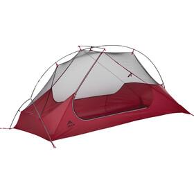 MSR FreeLite 1 Gray Tent V2 - Tiendas de campaña - gris/rojo